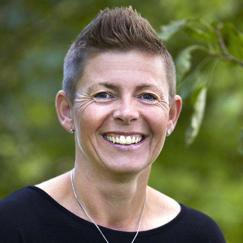 Cecilia Nilsson som är ansvarig för teambuilding.